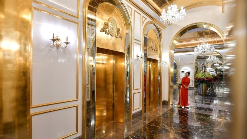 Gold Elevator for Vietnam.afp