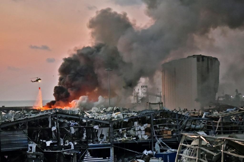 Explosion on Beirut's Port