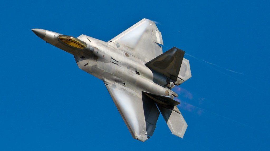 F-22 Raptor Pass