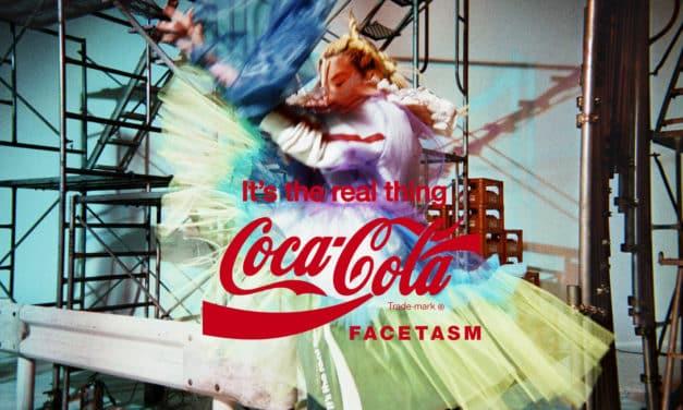 An Iconic Tribute: FACETASM Collaborates x Coca-Cola