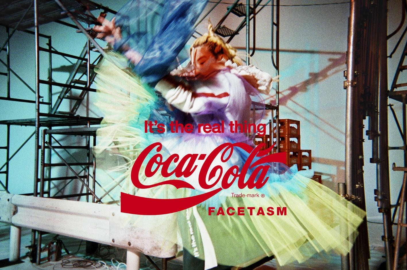 FACETASM x Coca Cola