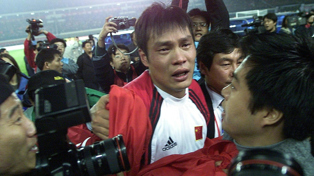 Fan Zhiyi at the 2002 World Cup.afp