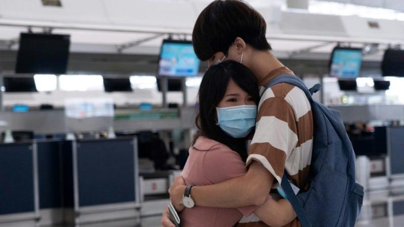 Farewells in Hong Kong