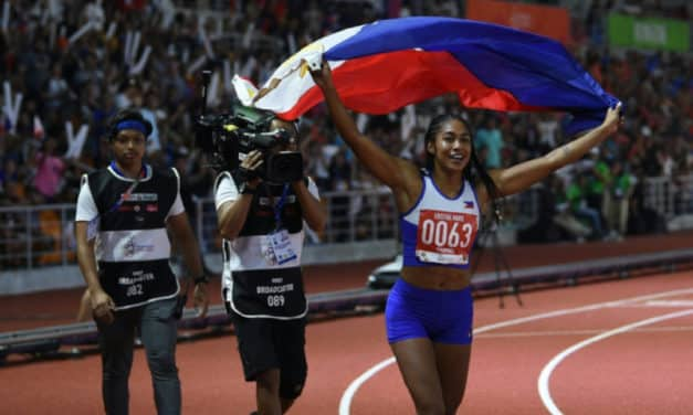 Filipina Sprinter Kristina Marie Knott Defeated Vietnam's 'Queen of Speed'