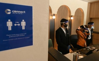 Singapore Virus-Secure Hotel Looks to Lure Business Travelers