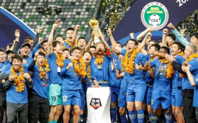 Inspired Teixeira Drags Jiangsu to First Chinese Super League Title