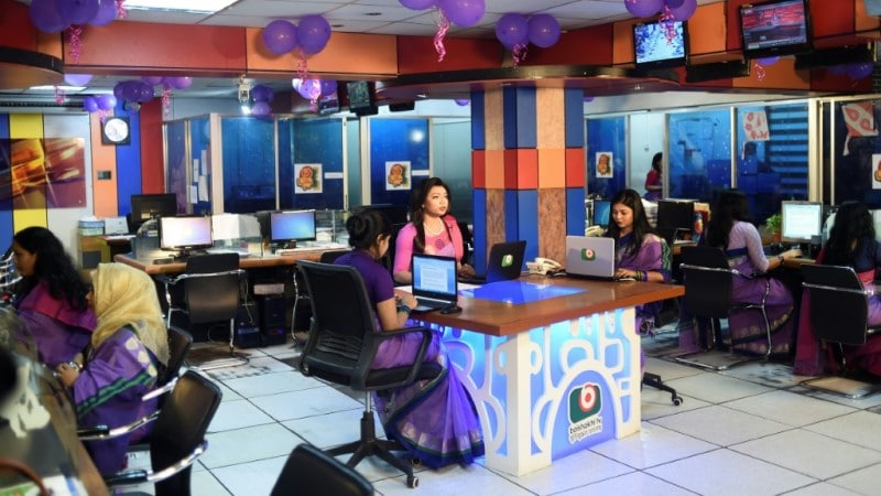 First Transgender News Presenter in Bangladesh
