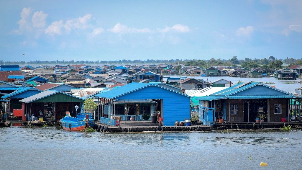 Floating City, Kompong Khleang - Cambodia