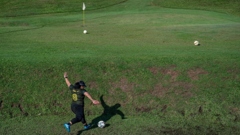 Footgolf Chipping Up