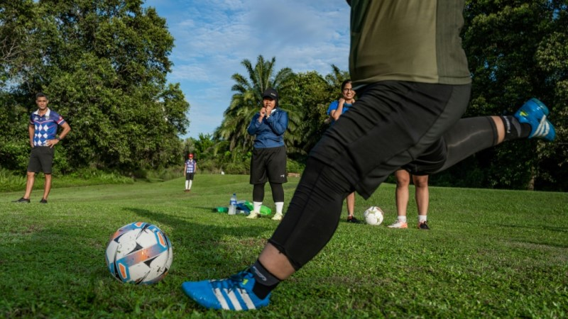 Footgolf Opening Drive