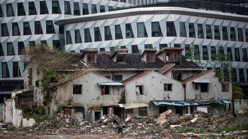 Forced Evictions and Land Grabs in China.afp