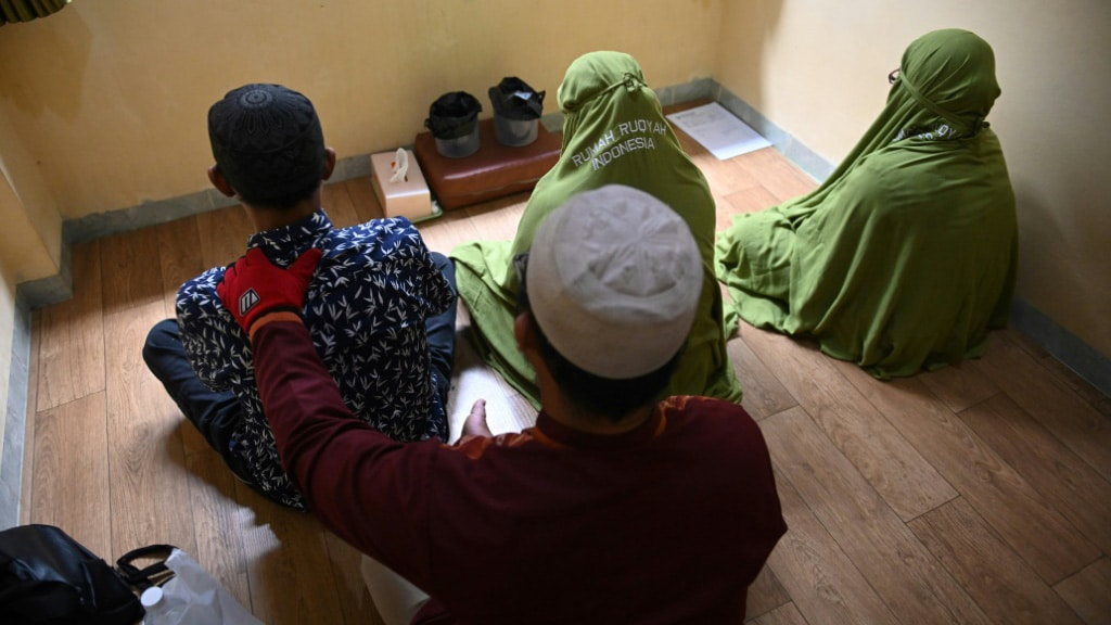 Forced Exorcism for Gay and Transgender in Indonesia.afp