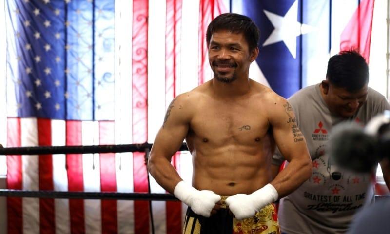 Former World Champion Manny Pacquiao