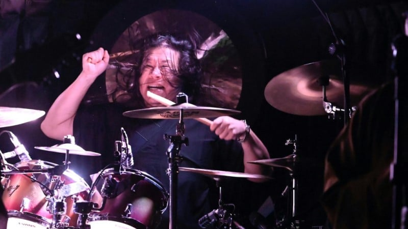 Founder and Drummer Jack Tung