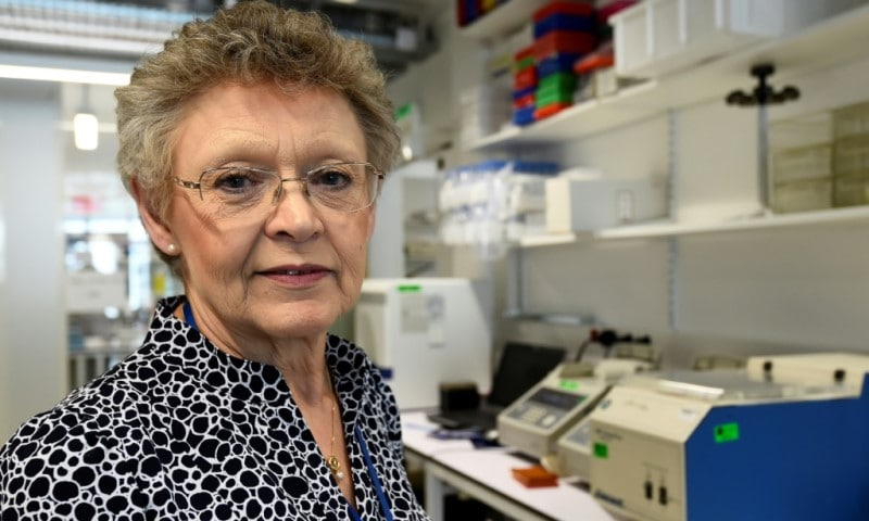 French Virologist Francoise Barre-Sinoussi