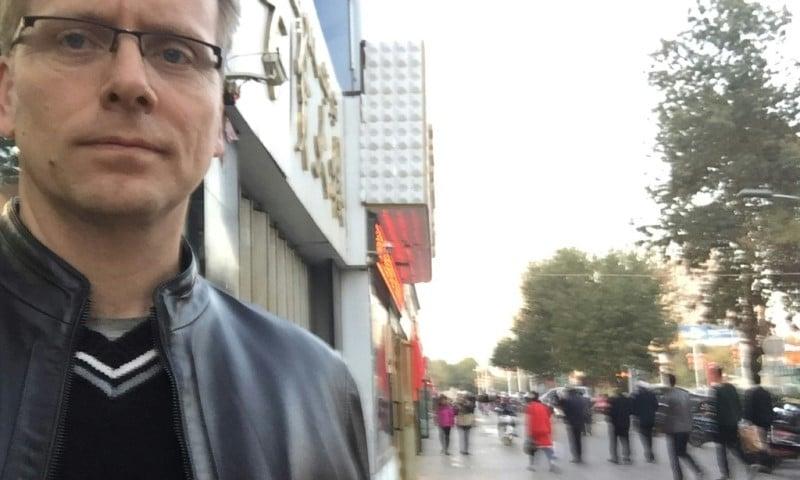 Gary Dyck in Xinjiang