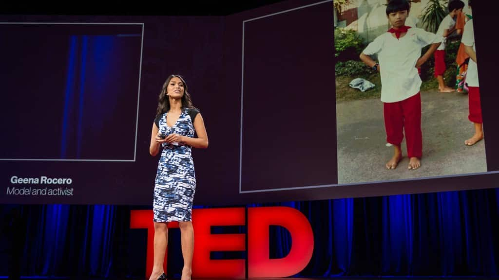 Geena Rocero at TED Conference ©TED