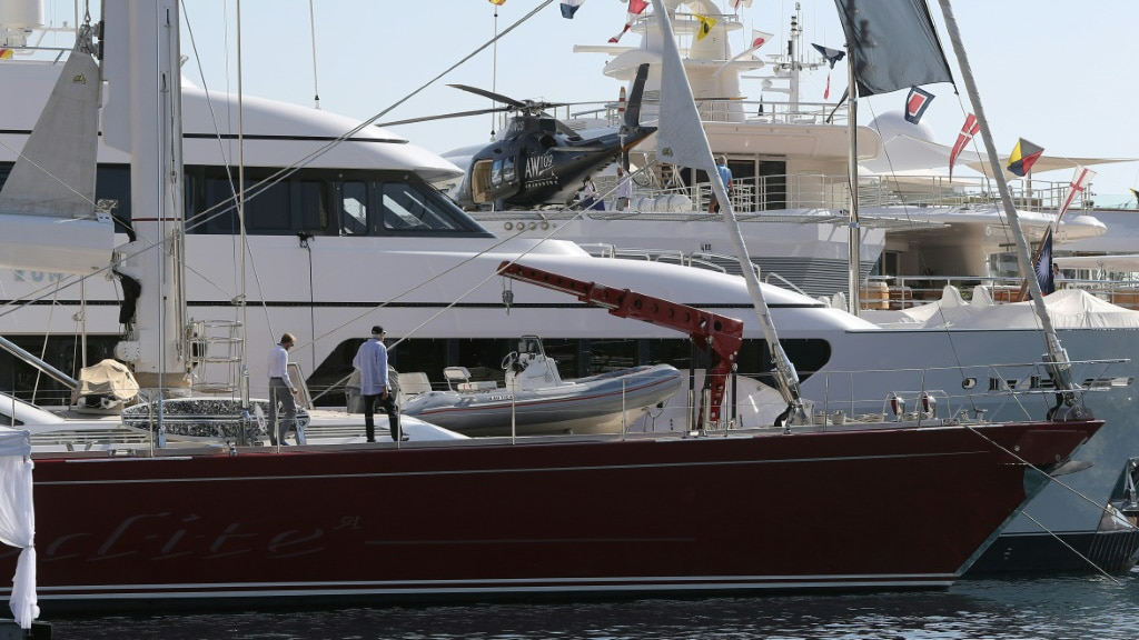 Global Elite in there Superyacht.afp