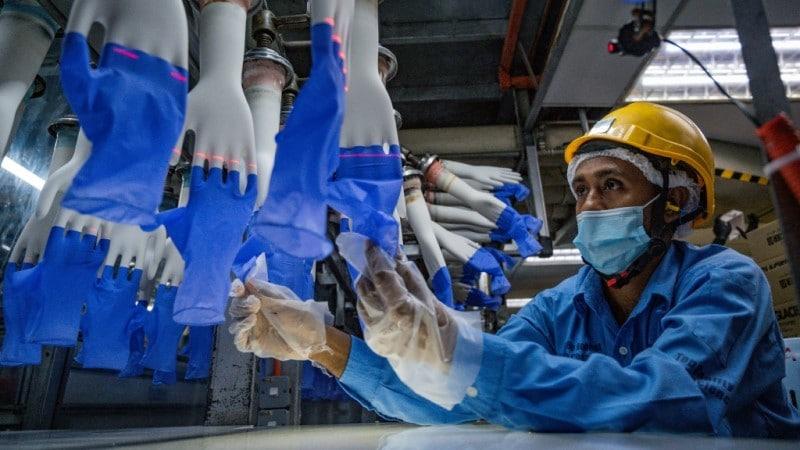 Glove Factory in Shah Alam