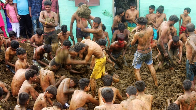 Gorehabba Festival in India