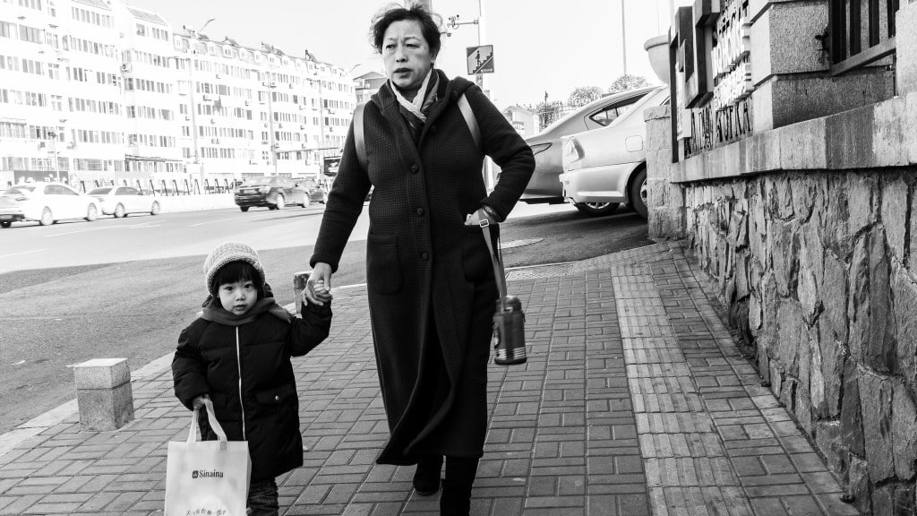 Grandmother and Child ©Gauthier Delecroix