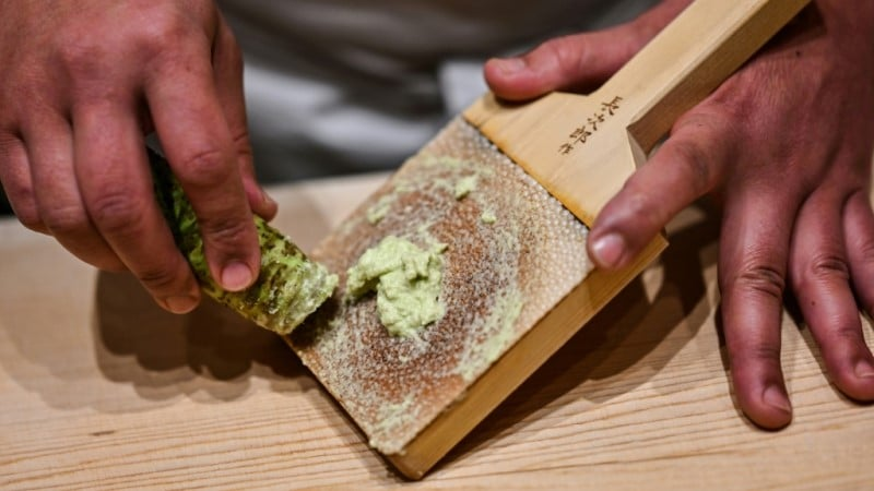 Grated Root of Wasabi