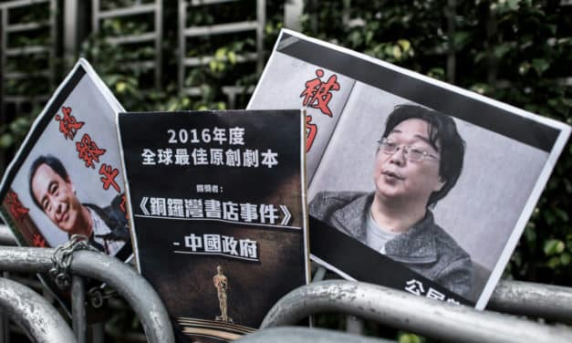 China Sentences Bookseller Gui Minhai to 10 Years in Jail