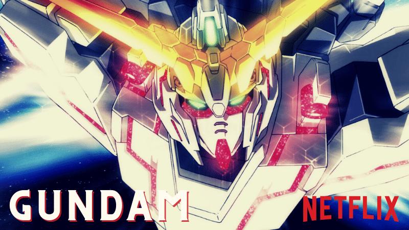 Gundam Netflix - Banner