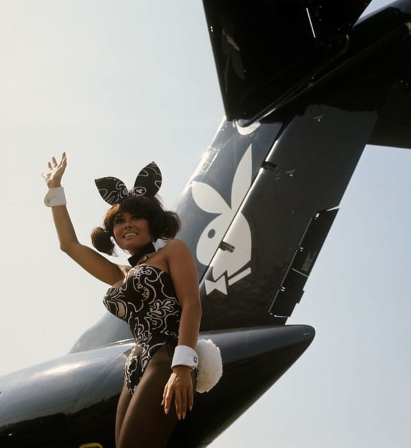 Gwen Wong Wayne - Playboy Private Jet ©Playboy