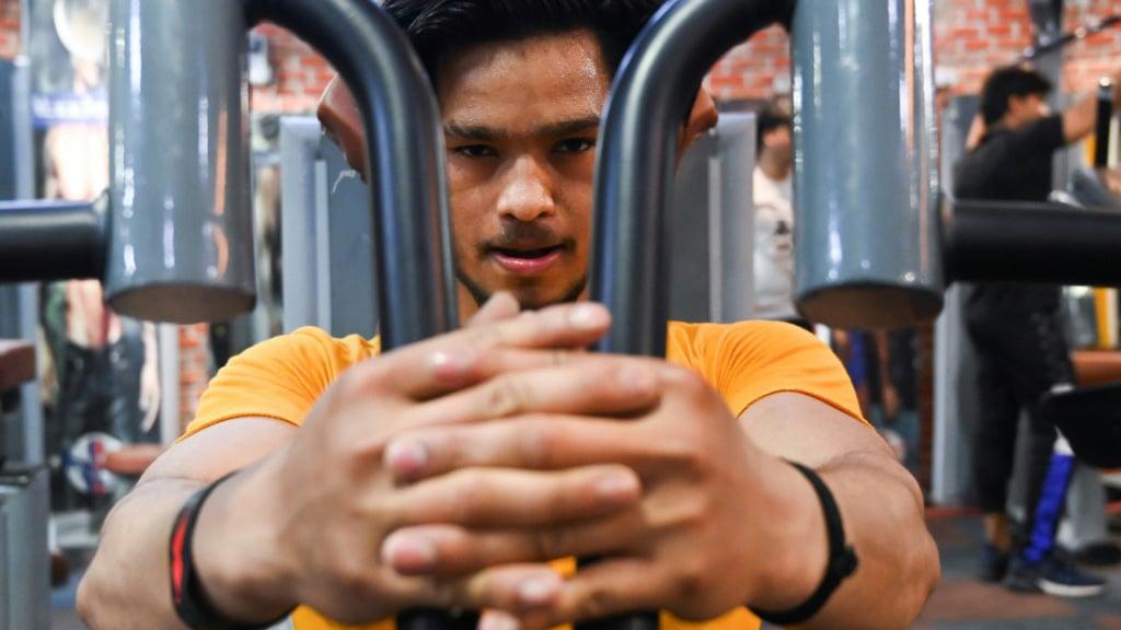 Gym in Delhi.afp