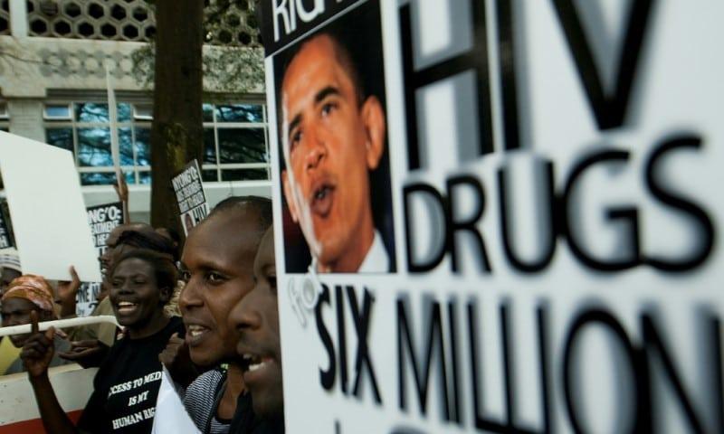 HIV AIDS Activists in Nairobi