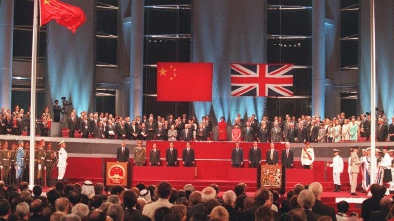 Handover of Hong Kong to China