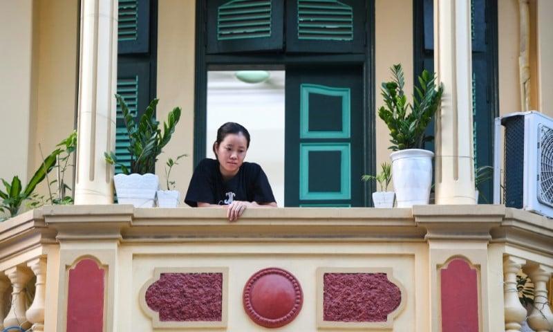 Hanoi's Locked-down Residents