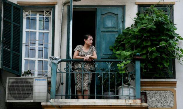 'My Savior': Hanoi's Tiny Balconies a Refuge in Lockdown