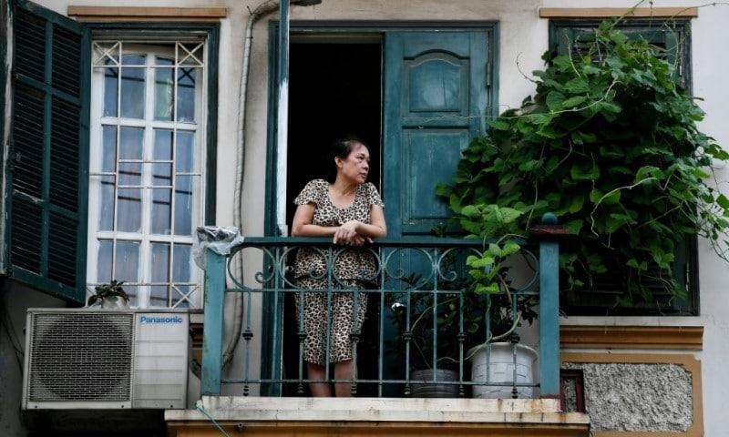 Hanoi's Tiny Balconies