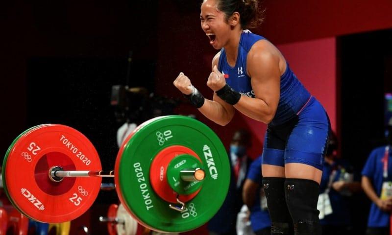 Hidilyn Diaz Wins Gold in Olympics