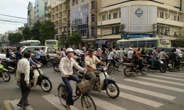 Cleaning The Air As You Go: Vietnamese Students Invent Filter Bikes