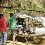 Frustrated by Indonesia Traffic: Citizens Build Homemade Helicopter