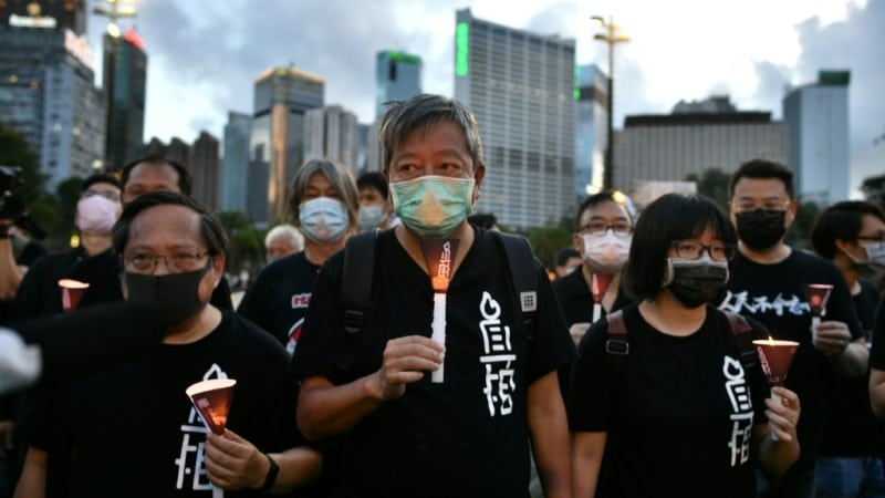 Hong Kong Activist Lee Cheuk-yan.afp