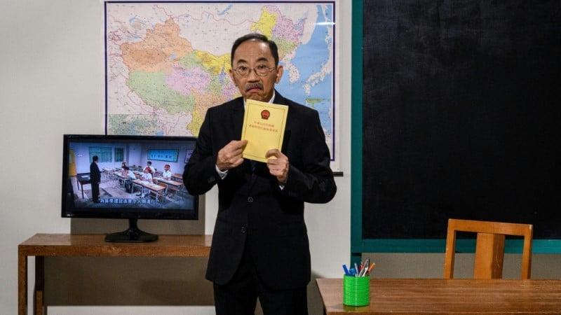 Hong Kong Actor Ng Chi-sum.afp