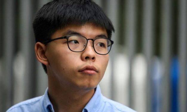 Hong Kong's Joshua Wong Handed Extra Jail Time for Tiananmen Vigil
