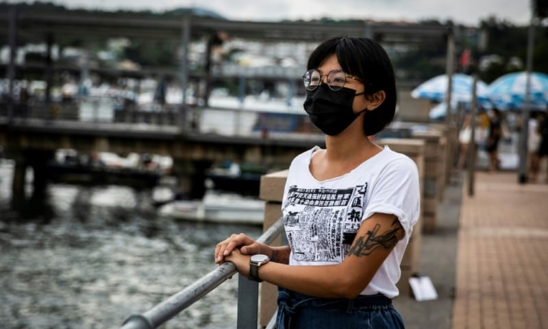 Hong Kong District Councillor Debby Chan