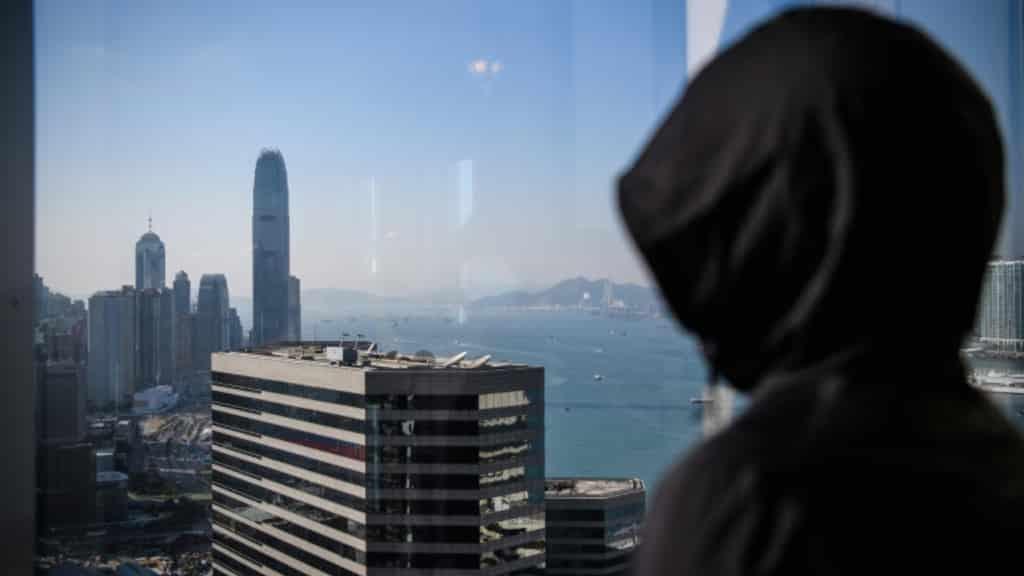 Hong Kong Female Protester ©AFP
