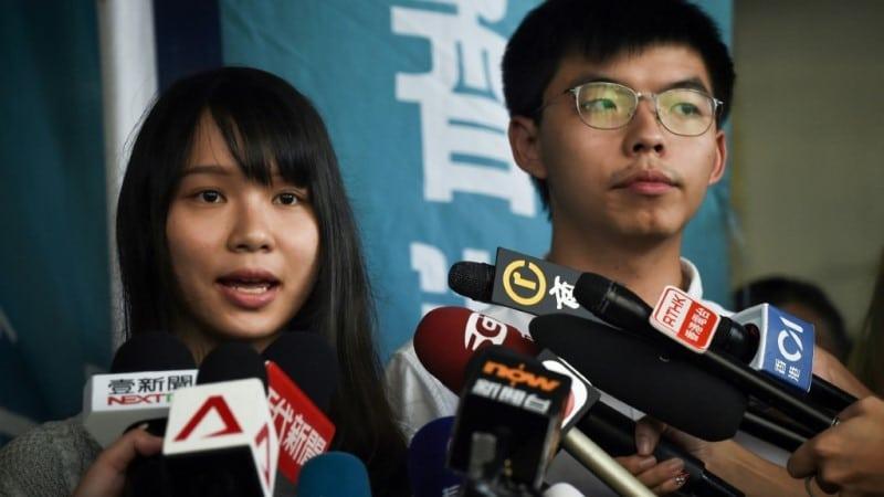 Hong Kong Independence Rioter