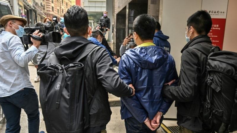Hong Kong Mass Arrests