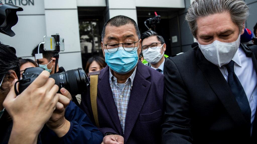 Hong Kong Media Tycoon Jimmy Lai.afp