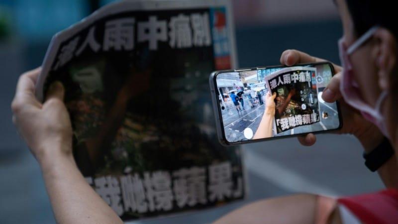 Hong Kong Newspaper Apple Daily
