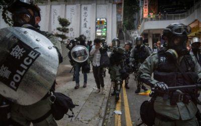 Judge Says Hong Kong Police Were Wrong to Hide ID Badges