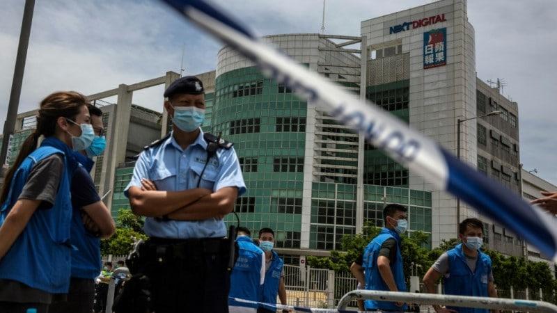 Hong Kong Police Arrested 10 People