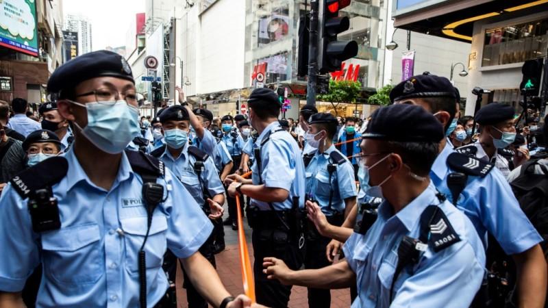 Hong Kong Police Officers